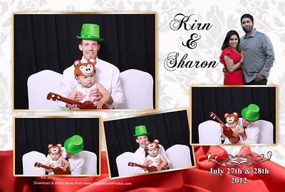 Sharon & Kirn Wedding Reception