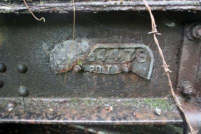 Works Plate from the Break Van B954479.