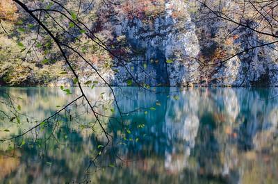 Reflections and lake.