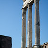 Columns from the Temple of Castor and Pollux.