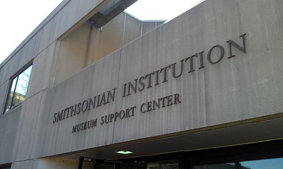Entrance to the Museum Support Center