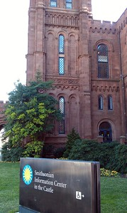 Check-in at the Smithsonian Institution Building (The Castle)