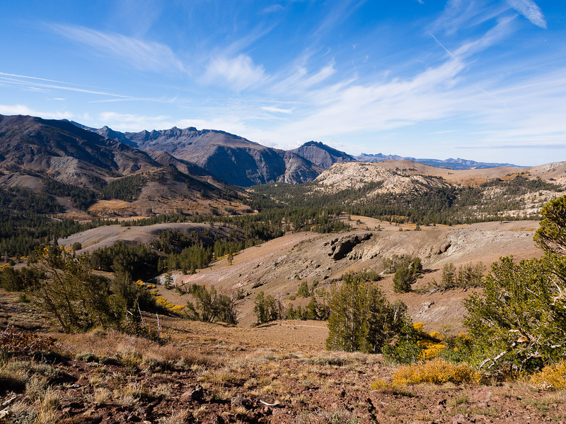 Western drainage from Sonora Pass