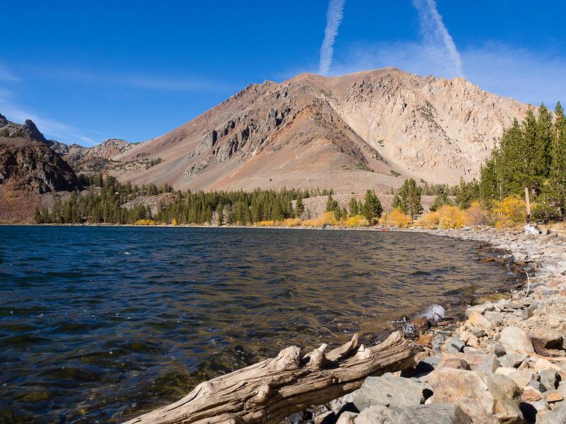 Dunderberg Peak and Virginia Lake