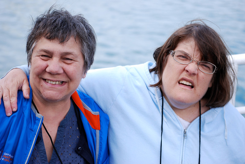 Pamela and Kathy