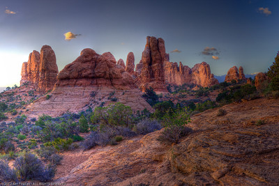First Light, Arches National Park