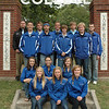2011 Cross Country Team: (1st row) Emily Meranda, Morgan DeBoer, Alice Hackett; (2nd row) Kameryn Brewster, Jordan Mestas, Karissa Austin; (3rd row) Kyle Bottom, Kellan Goben, Warren Lannon, Tyler Cox; (4th row) Head Coach Justin Carver, Brennan Jarvis, Jake Nugen, Jake Hasenauer, Ricky Creek - not pictured Kristin Tuttle