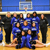 Cheer & Pom Squad 2012: (1st row) Nichole Williams, Jade Hodge; (2nd row) Maddux Bandy, Daniella Juarez, Amber Parker, Sheyli Thomas; (3rd row) Zeruiah Bandy, Marissa Roush, Joanna Overly, Shelby Terrell, Daniella Lescure, Varlenicia Winters, Tamara Sanchez<br /> photo by Katie Kynion