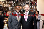 NEW YORK- MAY 17:  Chef Marcus Samuelsson, Joel Berg, Executive Director of NYCCAH attend New York City Coalition Against Hunger: Spring into Action Benefit on Thursday, May 17, 2012 in New York City at  Solo Event Space, 40 Broad Street in Lower Manhattan (Photos by Natalie Poette ©2012 ManhattanSociety.com)