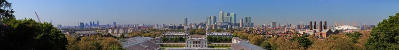 greenwich park london panorama