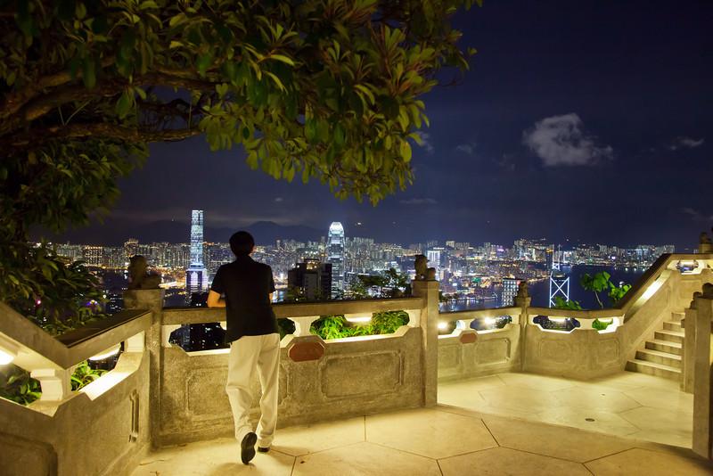 simon hong kong peak