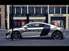 chrome audi r8 knightsbridge london e