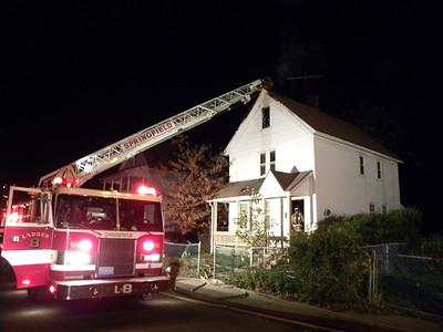 Springfield, MA W/F (attic fire) 18 Olive St. 11/3/12