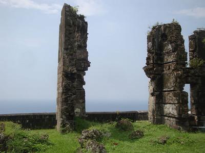 Brimstone Hill ruins 3