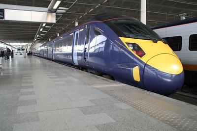 Javelin 395025 at St.Pancras International.
