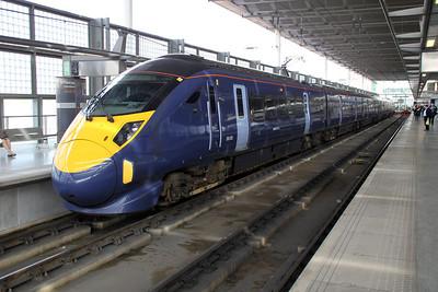 Javelin 395020 at St.Pancras International.