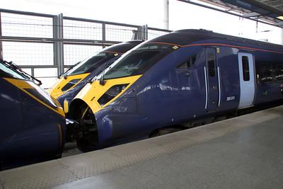 Javelin 395011 at St.Pancras International.