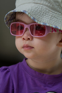 Looking at the world through rose tinted glasses!