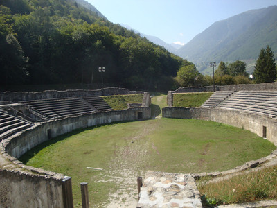 A roman amphitheatre. What stories these stones could tell.