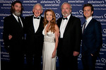 John Glover, Gala Emcee Victor Garber, evening performer Jonathan Groff, with Honorees Jane Seymour and James Keach. (Photo Credit: Amy Y Lee)