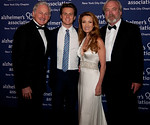 Gala Emcee Victor Garber, evening performer Jonathan Groff, with Honorees Jane Seymour and James Keach. (Photo Credit: Amy Y Lee)