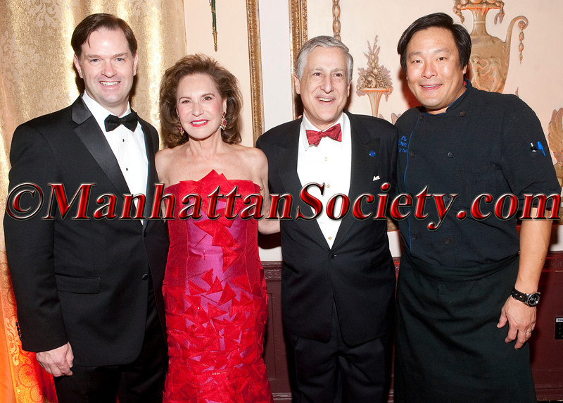 John Lehr,  Sharyn Mann, Todd Slotkin, Ming Tsai attend The 2012 Food Allergy Ball Benefiting the Food Allergy Initiative on Monday, December 03, 2012 at the Waldorf Astoria   301 Park Avenue (between 49th and 50th), New York City, NY (Photos by Christopher London ©2012 ManhattanSociety.com)