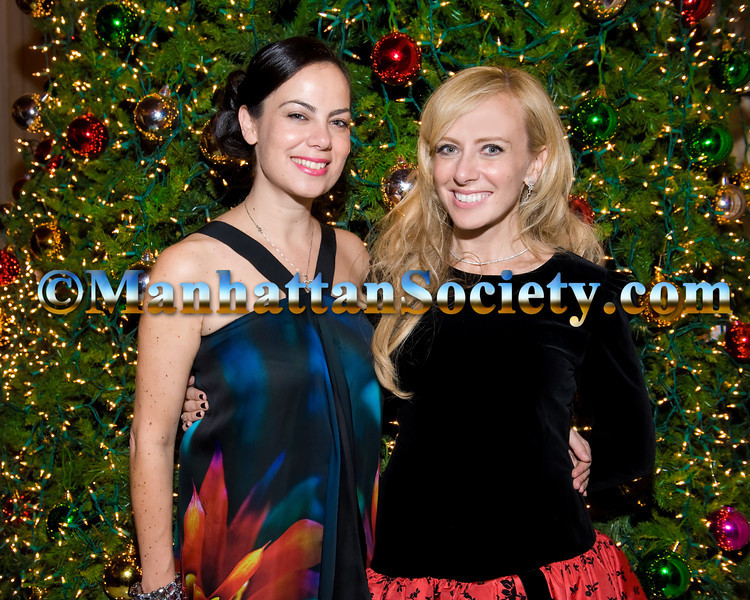 Michelle Halpern, Lisa Resling Halpern attend The 2012 Scandinavian Christmas Ball in New York City honoring H.E. Mr. Jan Eliasson, Deputy Secretary General of the U.N. hosted by The American Scandinavian Society of New York on Friday, November 30, 2012 at The Metropolitan Club, One East 60th Street, New York, NY 10021 (Photos by Gregory Partanio ©2012 ManhattanSociety.com)