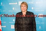 Michelle Bachelet, former President of Chile & Under-Secretary-General and Executive Director of UN Women – Lifetime Achievement 2012 Award Winner