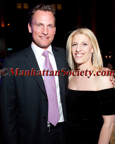 New York – April 09: Jason Wright, Chairman of the Board of Directors of The Opportunity Network and Partner, Apax Partners, L.P. and Jessica Pliska, Founder and Executive Director of The Opportunity Network attend The Opportunity Network's  Fifth Annual Night of Opportunity on Monday, April 9, 2012 at CAPITALE, 130 Bowery on the Lower East Side of New York City (Photos by Christopher London ©2012 ManhattanSociety.com)