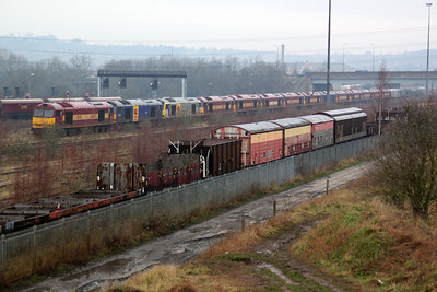 Toton Yard view and 60s Line up.