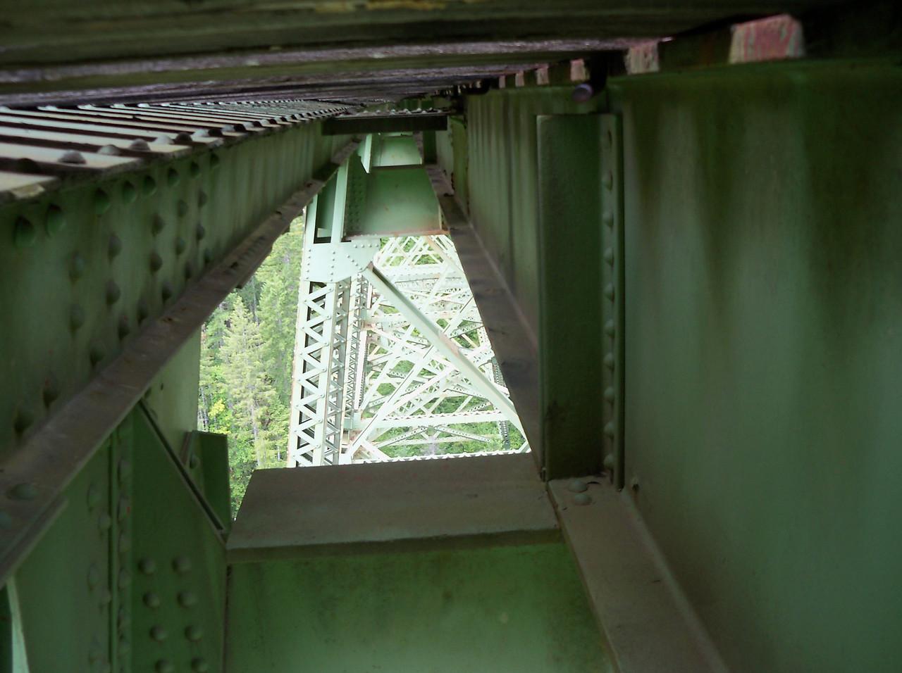 Under the bridge..!