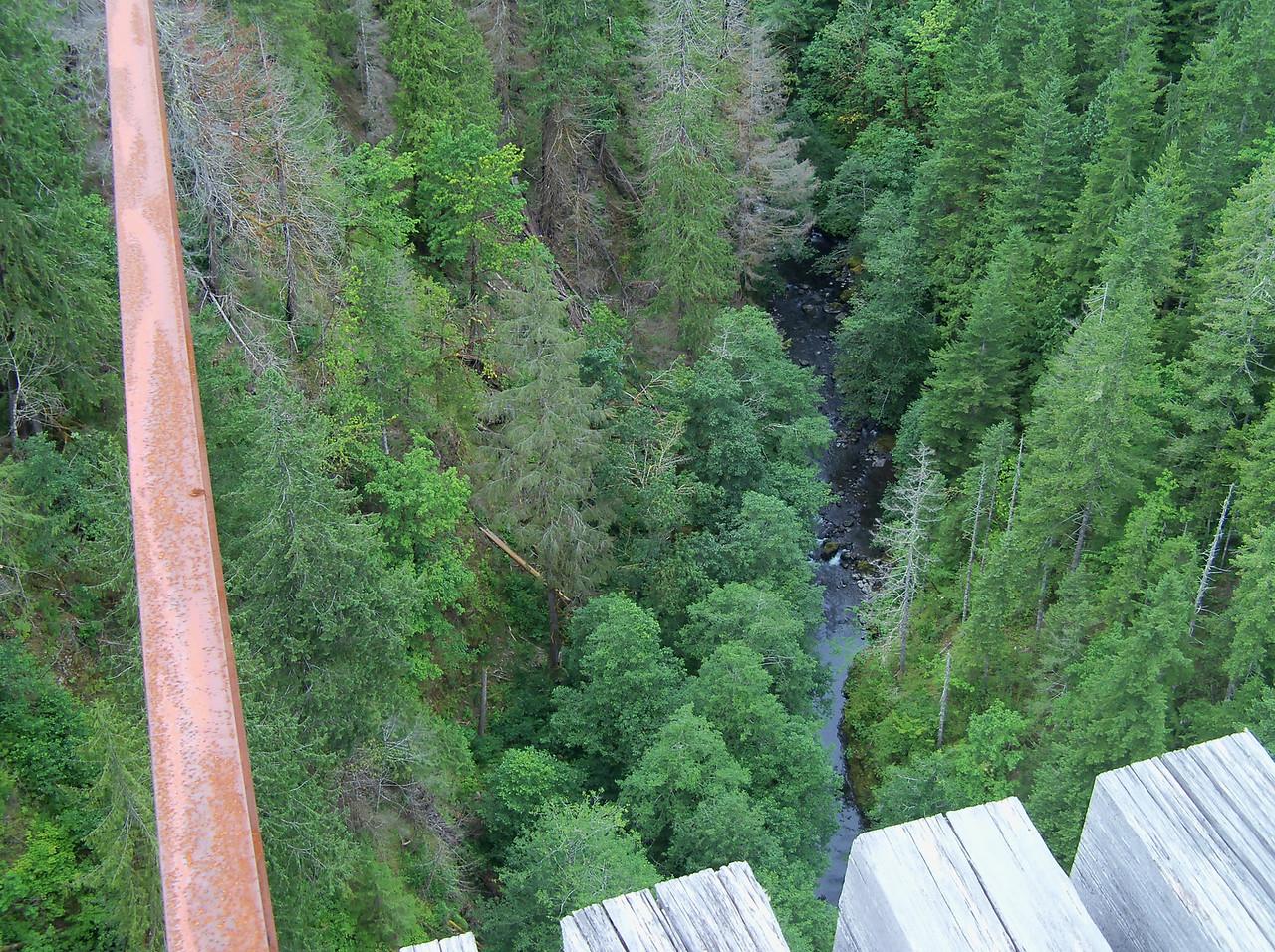 Vance Creek below..