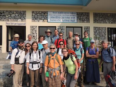 Princeton trekkers in Nepal - Rick Curtis '79
