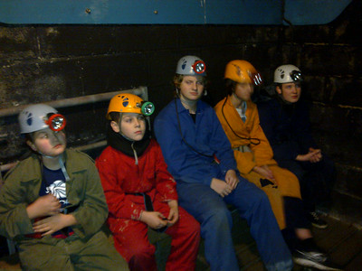 Scout Troop Night 25/10/12 - Indoor Caving