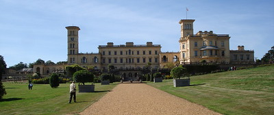Osborne House, Queen Victoria and Prince Albert's family home.