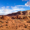 Coyote Buttes north, landscape, as we hike to The Wave
