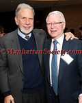 NEW YORK, NY - APRIL 02: Dr. John Sexton, President of New York University,  Jan T. Vilček M.D., Ph.D, Co-founder of The Vilcek Foundation, attends The Vilcek Foundation 2012 Awards Dinner at the Mandarin Oriental Hotel - 80 Columbus Circle on April 2, 2012 in New York City. (Photos by Christopher London ©2012 ManhattanSociety.com)
