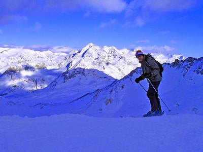 I do sometimes ski as well.