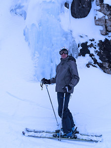D3 Andrew near ice columns by JdeB