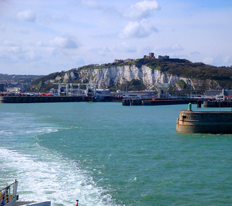 At least however we got to catch the ferry across the English Channel. This is Dover, and Dover Castle sits commandingly on top of the cliff - which is also full of tunnels which used to house a British military command centre (and underground hospital) during World War II. The castle and tunnels are incredibly fun :)