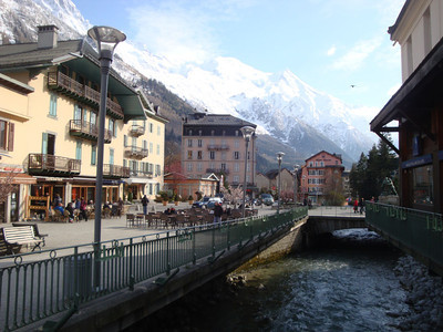 Finally we arrived in Chamonix, the world capital of alpinism.