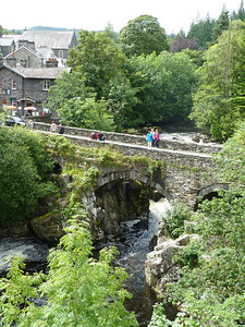Our base was the picturesque village of Betws-y-Coed