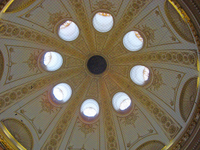 Imperial Palace domed ceiling