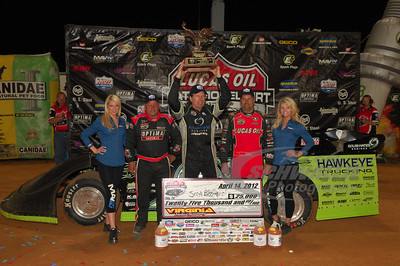Scott Bloomquist, Don O'Neal, Earl Pearson, Jr.
