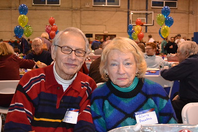 Cliff Baumbach Class of 1947 with his terrific wife Gloria.