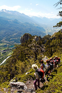 Clot du Puy - Crête de la Rortie - Vue sur la Roche de Rame
