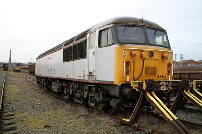 56018 in Warrington Yard