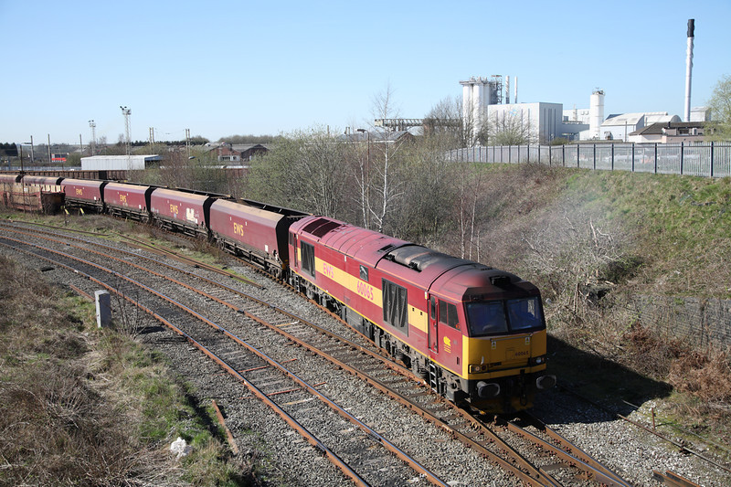 26 March 2012 :: 60065 at Warrington on Liverpool / Fiddlers Ferry coal circuit