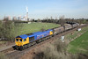 27 March 2012 :: 66719 deaprts from Eggborough Power Station for Tyne Dock