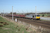 26 March 2012 :: 60099 at Winwick with 6F74, Liverpool Bulk Terminal to Fiddlers Ferry with loaded HTA's
